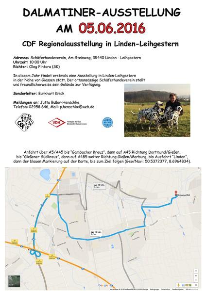 CDF Regionalausstellung in Linden-Leihgestern