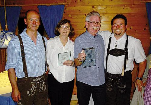 Ehrenmitglieder im CDF: Christa und Helge Hilpert